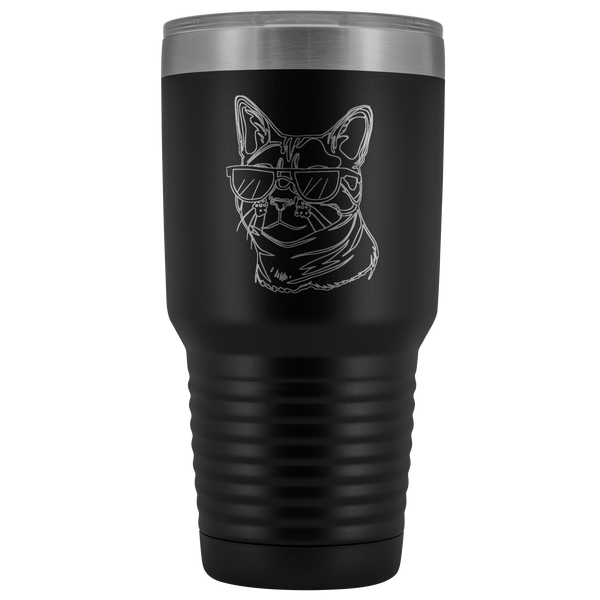 Bengal Cat Vacuum Travel Tumbler, Cat Lover Gifts 9187A