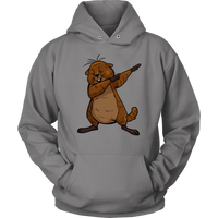 Groundhog Day Funny Dabbing Dance Groundhog Hoodie Sweatshirt for Men Women