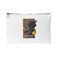 "Funny Cool ""Handicat"" Halloween Cat Phone Accessory Pouch For Men and Women"