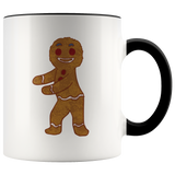 Gingerbread Man Accent Coffee Mug, Floss Dancing Gifts for Dance Lovers