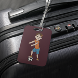 Floss Like a Soccer Boss Luggage Tag, Floss Dancing Gifts