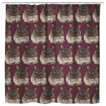 Balinese Cat Shower Curtain, Cat Lover Gifts 9186
