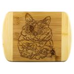 Balinese Cat Wood Cutting Board, Cat Lover Gifts 9186A