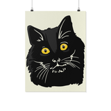 Bombay Cat Wall Poster, Cat Lover Gifts 9189A