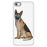 German Shepherd Smart Phone Case for iPhone, Cute Gift for Dog Lovers
