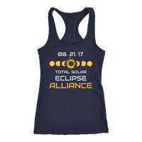 Solar Eclipse Alliance Racer-back Tank Top