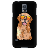Golden Labrador Retriever Phonecase for Samsung Galaxy,Funny Gift for Dog Lovers