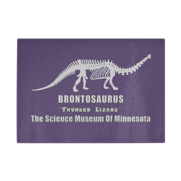 "Dustin Brontosaurus Stranger of Things Printed Cutting Board for Women Men 11 1/4"" x 8"""