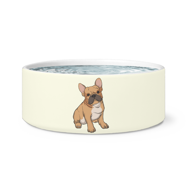 French Bulldog Dog Bowl, Funny Gift for Cute Dog Lovers
