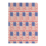 Trump 2020 USA Flag Journal Diary Paperback Notebook, Gifts for Republicans Conservative