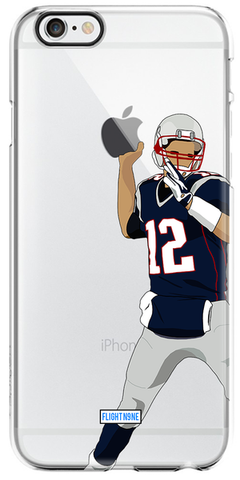 Tom Brady Apple Throw Iphone Case
