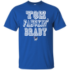 Image of Tom Fahckin' Brady Mens Blue T Shirt