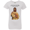 Image of Tom Brady Girls White Worship T Shirt