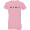 Image of Tom Brady Girls Pink Worship T Shirt