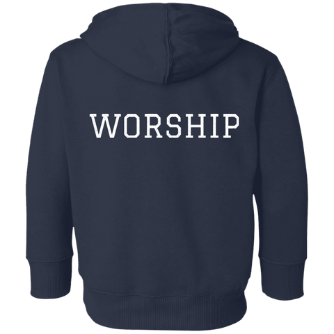 Tom Brady Toddlers Navy Worship Hoodie