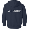 Image of Tom Brady Toddlers Navy Worship Hoodie