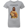 Image of Tom Brady Girls Grey Worship T Shirt