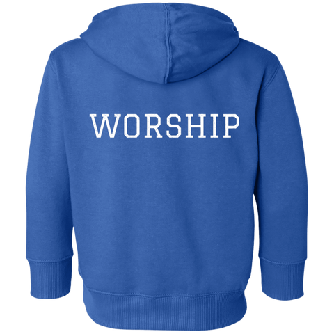Tom Brady Toddlers Blue Worship Hoodie