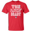 Image of Tom Fahckin' Brady Mens Red T Shirt