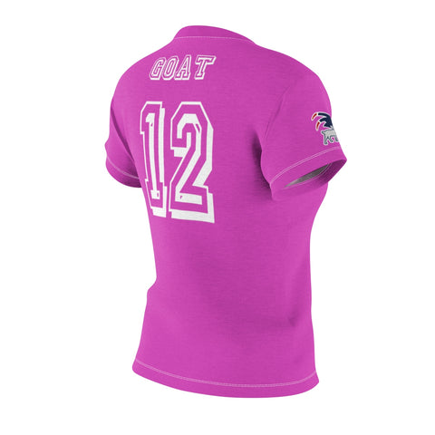 Womens Pink Performance GOAT Tom Brady Jersey