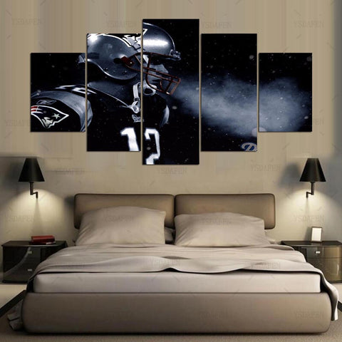Tom Brady Canvas Painting