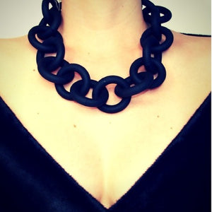 Chain Rubber Necklace