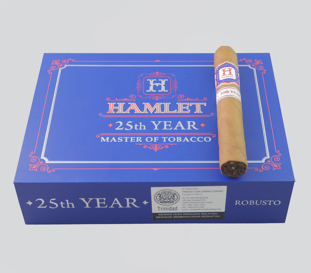 Hamlet Paredes 25th Year Robusto