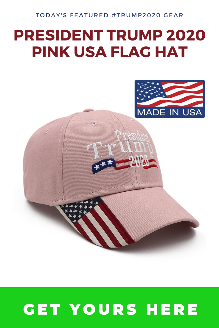 Image of Pink Trump Hat