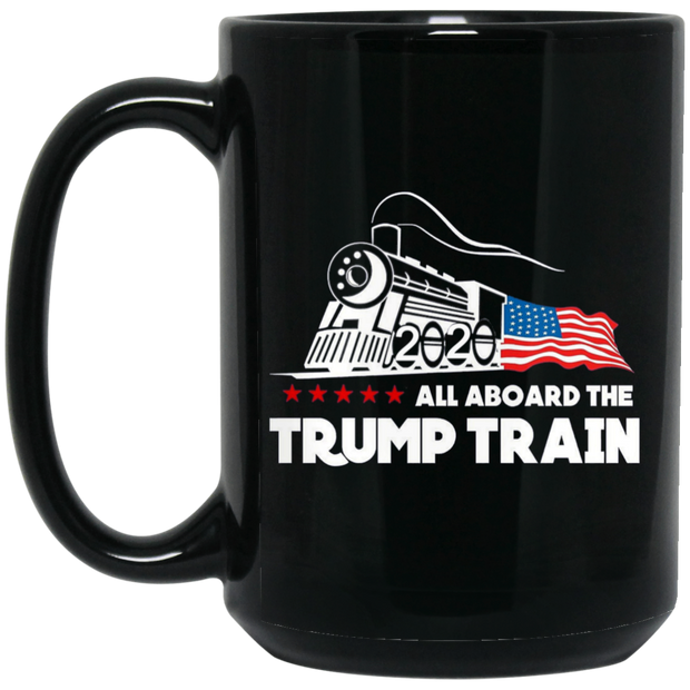 Trump Train Black Mug
