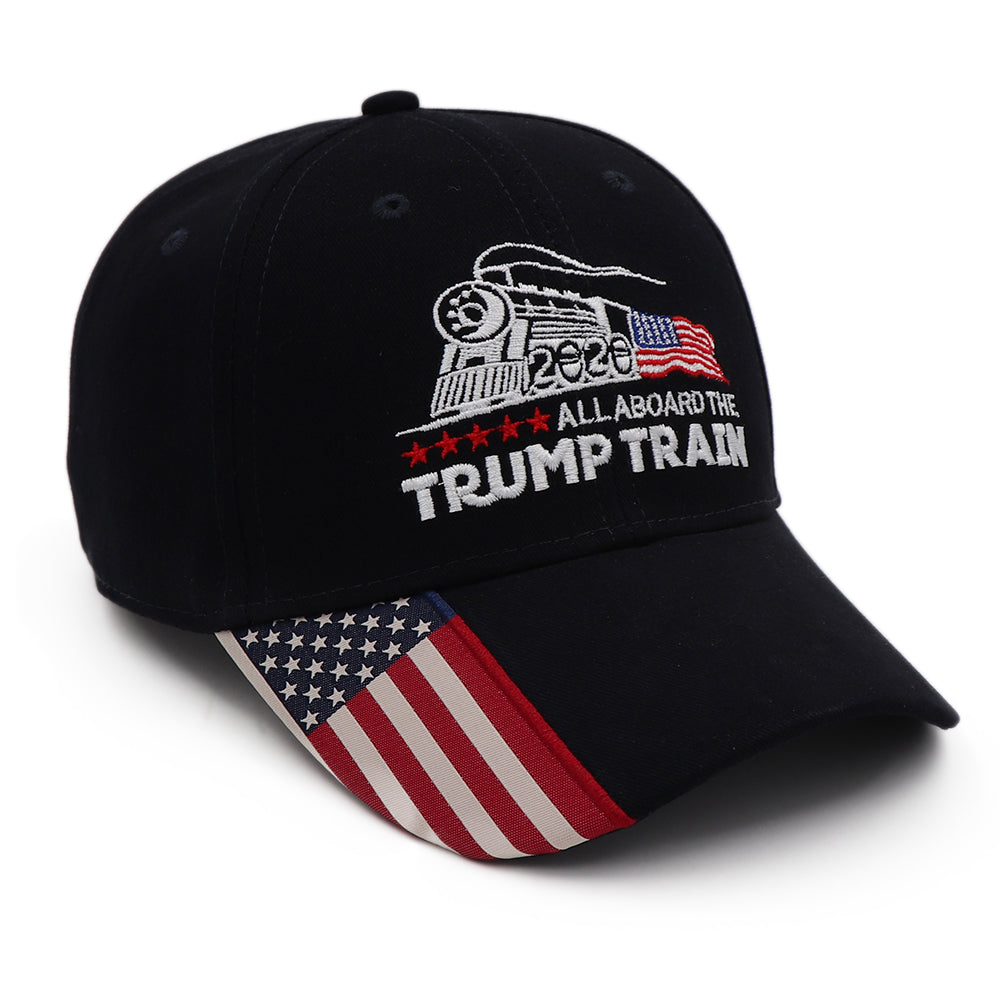 President Trump Train USA Flag Hat