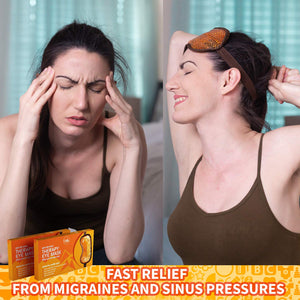 Hot and Cold Gel Bead Therapy Eye Mask for Puffy Eyes