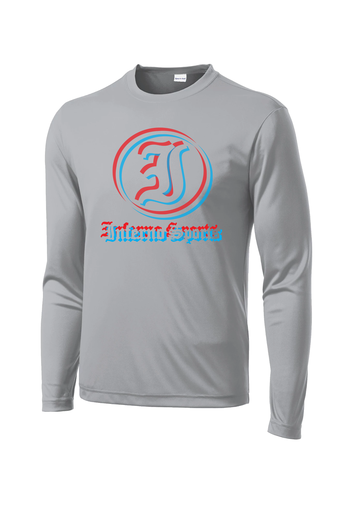 Inferno Sports 3D Long Sleeve Grey