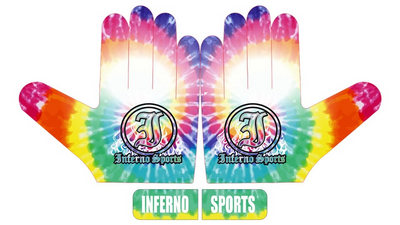 Inferno Sports Game Day Batting Gloves 2.0 - Tie Dye