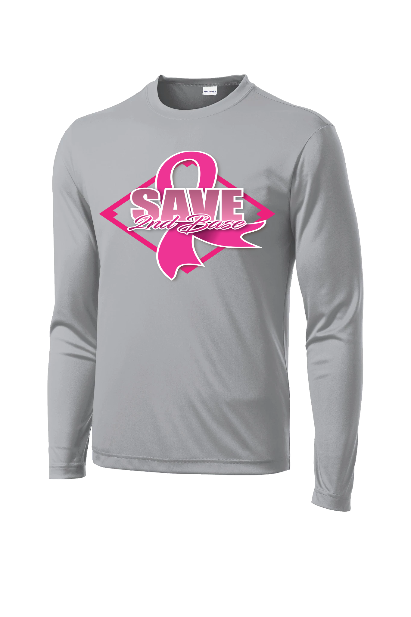 Inferno Sports Breast Cancer Long Sleeve Grey