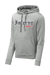 Inferno Sports Heather Fleece Hooded Pullover - RedLine Flag