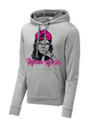 Inferno Sports Heather Fleece Hooded Pullover - Sugar Skull