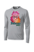 Inferno Sports Watercolor Sugar Skull Long-Sleeve