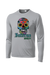 Inferno Sports Filled Watercolor Sugar Skull Longsleeve