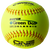 "WORTH ONE NATION SUPER GOLD DOT EXTREME 11"" 44/400 COMPOSITE SLOWPITCH SOFTBALLS: ON11CY"