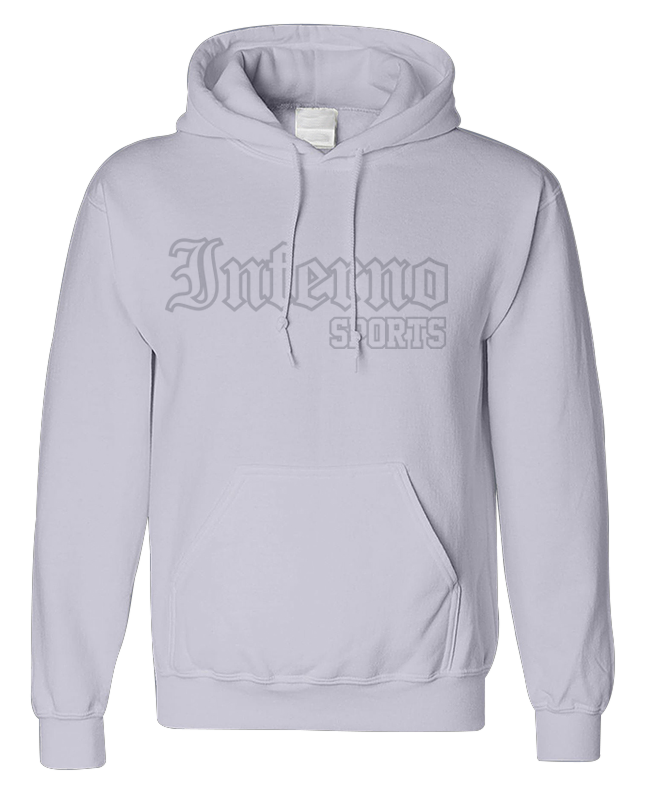 Inferno Sports White Fleece Hooded Pullover - Whiteout