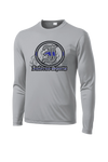 Inferno Sports Thin Blue Line Long Sleeve Grey