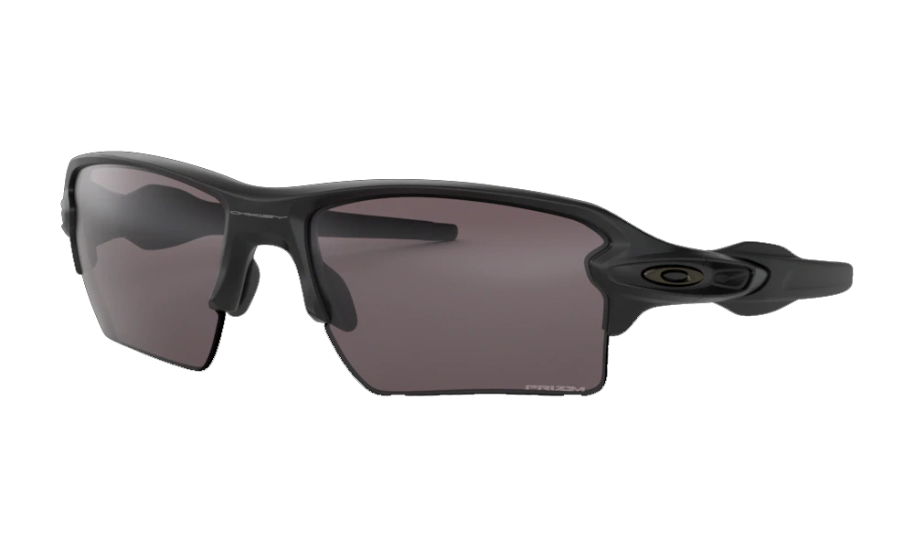 Oakley Flak 2.0 XL Matte Black - Prizm Grey Polarized - 918885