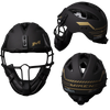 Miken Gold Slowpitch Softball Pitchers Helmet Mask – Limited Edition