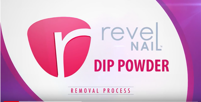 Revel Nail Dip Powder Remove Process
