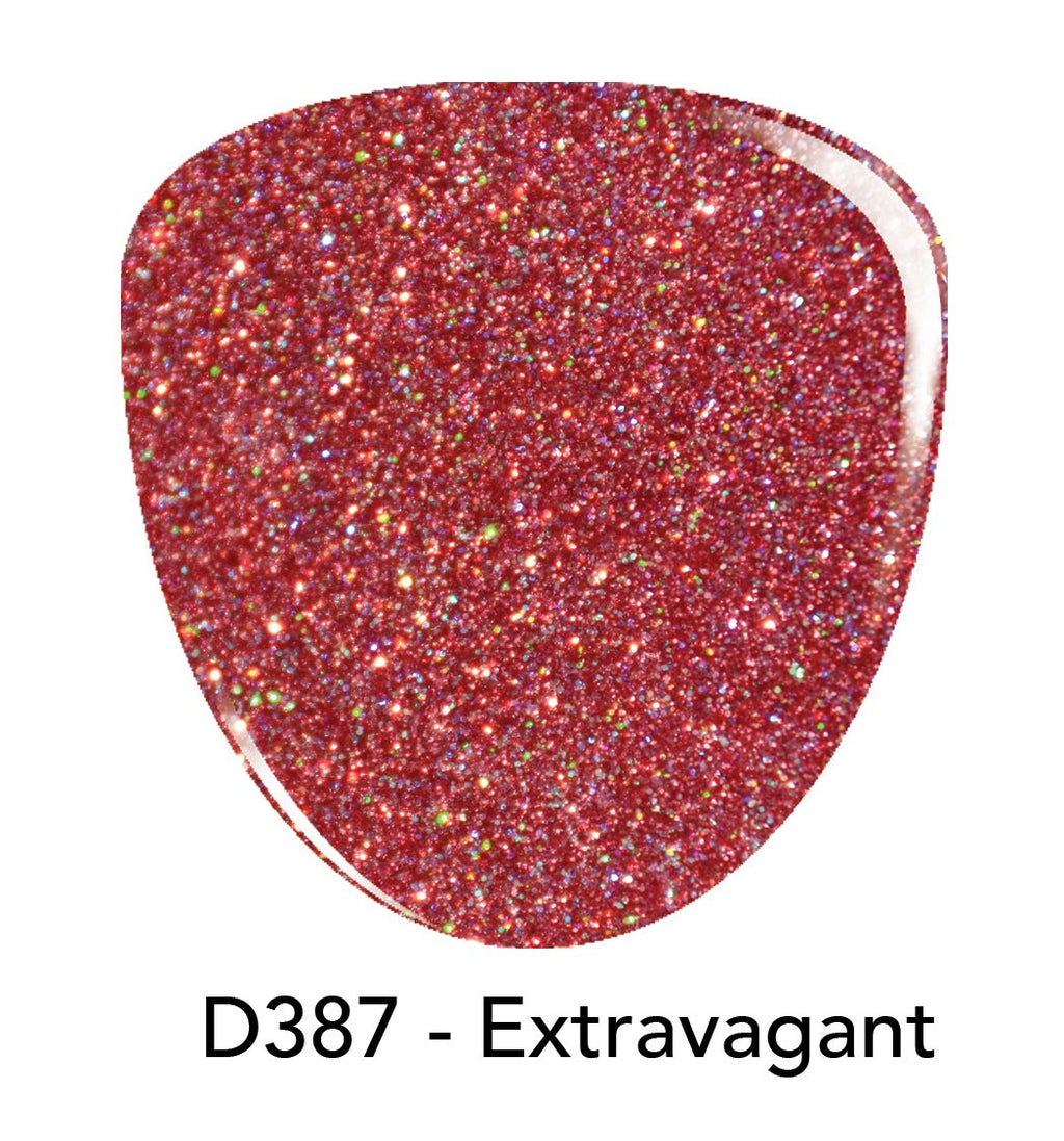 Revel Nail Dip Powder 2oz DP387 Extravagant -New Colors