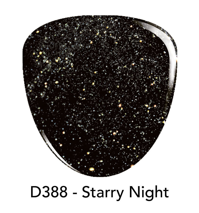 Revel Nail Dip Powder 2oz DP388 Starry Night -New Colors