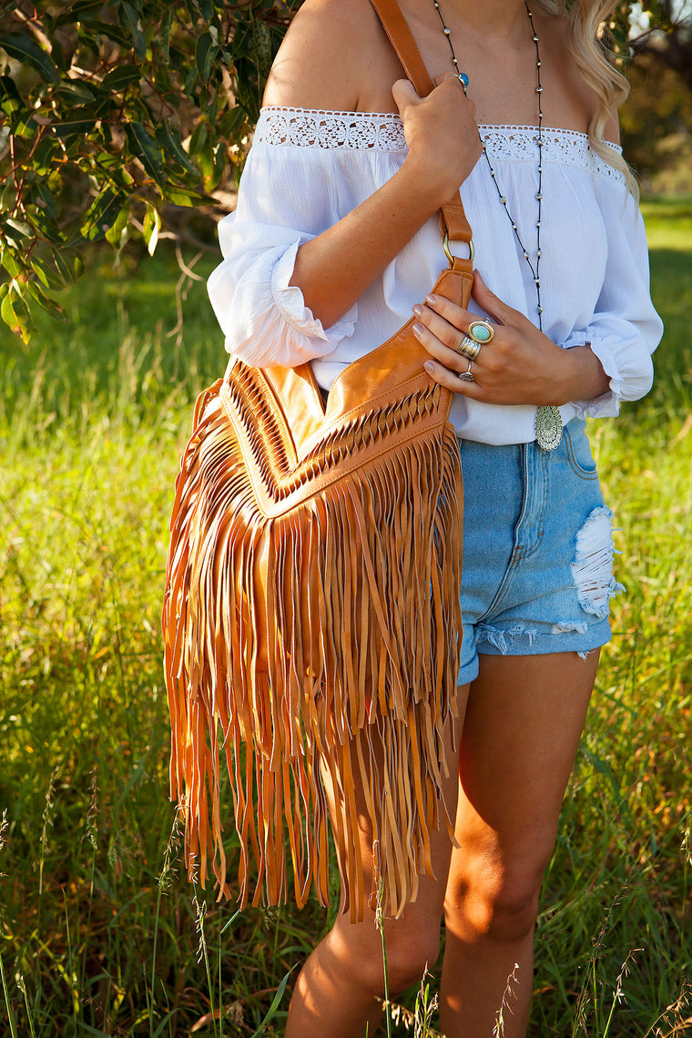 Tan Tassel Goddess