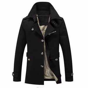 Men's Winter Jacket Fashion Windbreaker Quality Military Waterproof Men Jacket