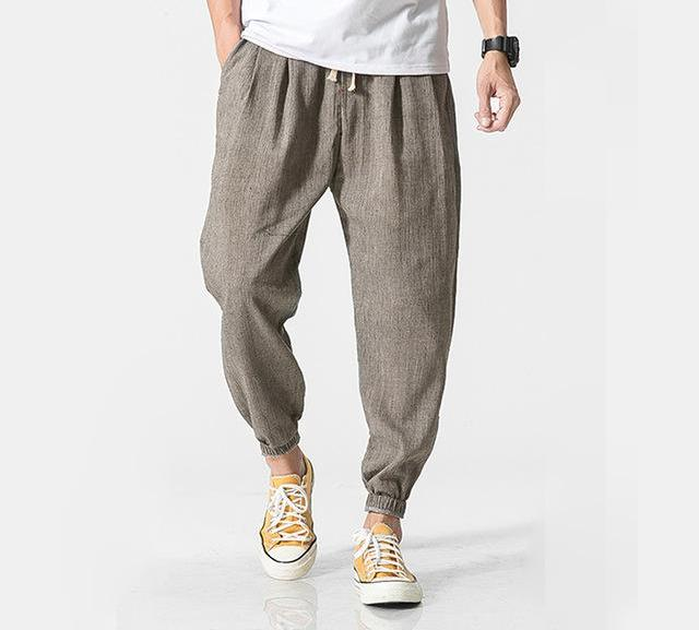 Casual Cotton Linen Harem Pants