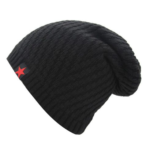 Russian Star Beanies Knitted Winter Hat For Men & Women